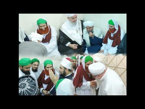 Arab Scholars visit Fazian-e-Madina Karachi to meet Ameer-e-AhleSunnat Maulana Ilyas Qadri