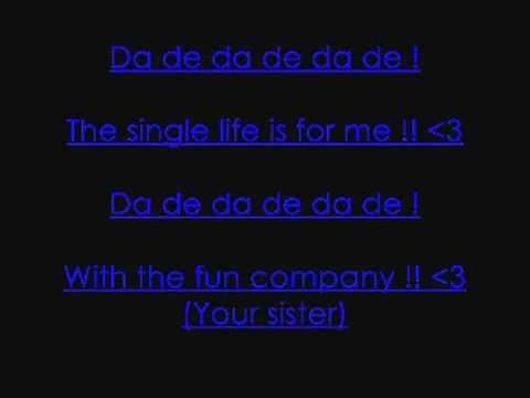 Single life By Sarina Paris (Lyrics)
