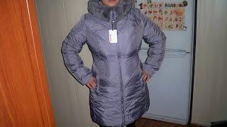 Обзор покупки Женской куртки на халофайбере, от Snowimage 2014 осень-зима c Алиэкспресса