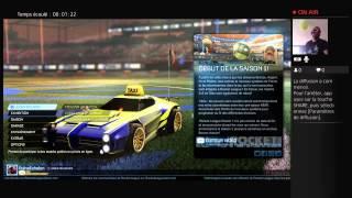 1h de Rocket League pour YouTube !!