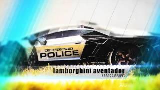 lamborghini Aventador - Papercraft