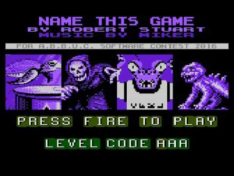 Name This Game - Atari XL/XE Abbuc Software Contest 2016
