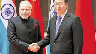 From youtube.com: PM Narendra Modi shakes hands with China's Prez Xi Jinping {MID-145896}