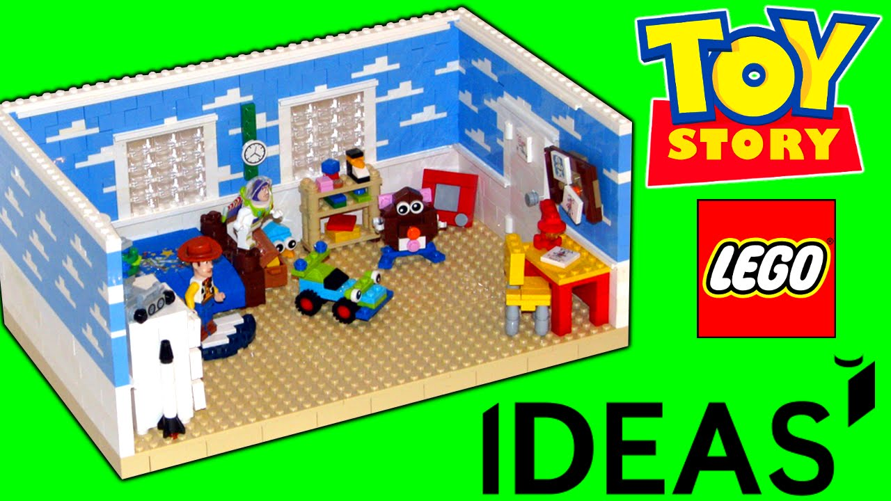 toy story andy 39 s room lego ideas project youtube