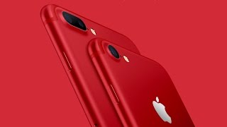 The New Apple (RED) iPhone 7 is Here!