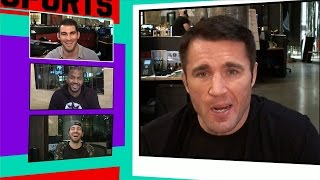 Chael Sonnen to Ronda Rousey 'Let Mayweather Train You!' | TMZ Sports