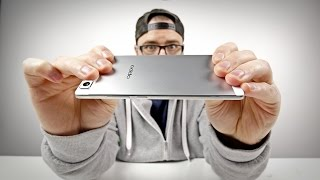 World's Thinnest Phone! (Oppo R5 Unboxing)