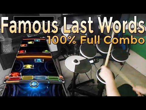 My Chemical Romance - Famous Last Words 100% FC (Expert Pro Drums RB4)