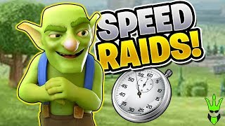 HOW MUCH LOOT CAN WE GET IN 1 MINUTE?! - Let's Play TH10 - Clash of Clans