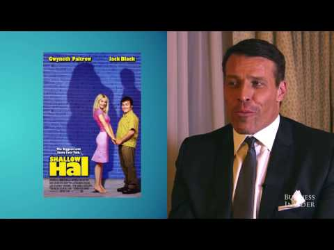 Tony Robbins I The real story behind his unforgettable 'Shallow Hal' cameo