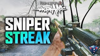 I FINALLY USED THE SNIPER! | Rising Storm 2: Vietnam Gameplay