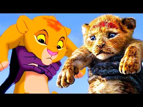 LE ROI LION : 2019 VS 1994 streaming identique