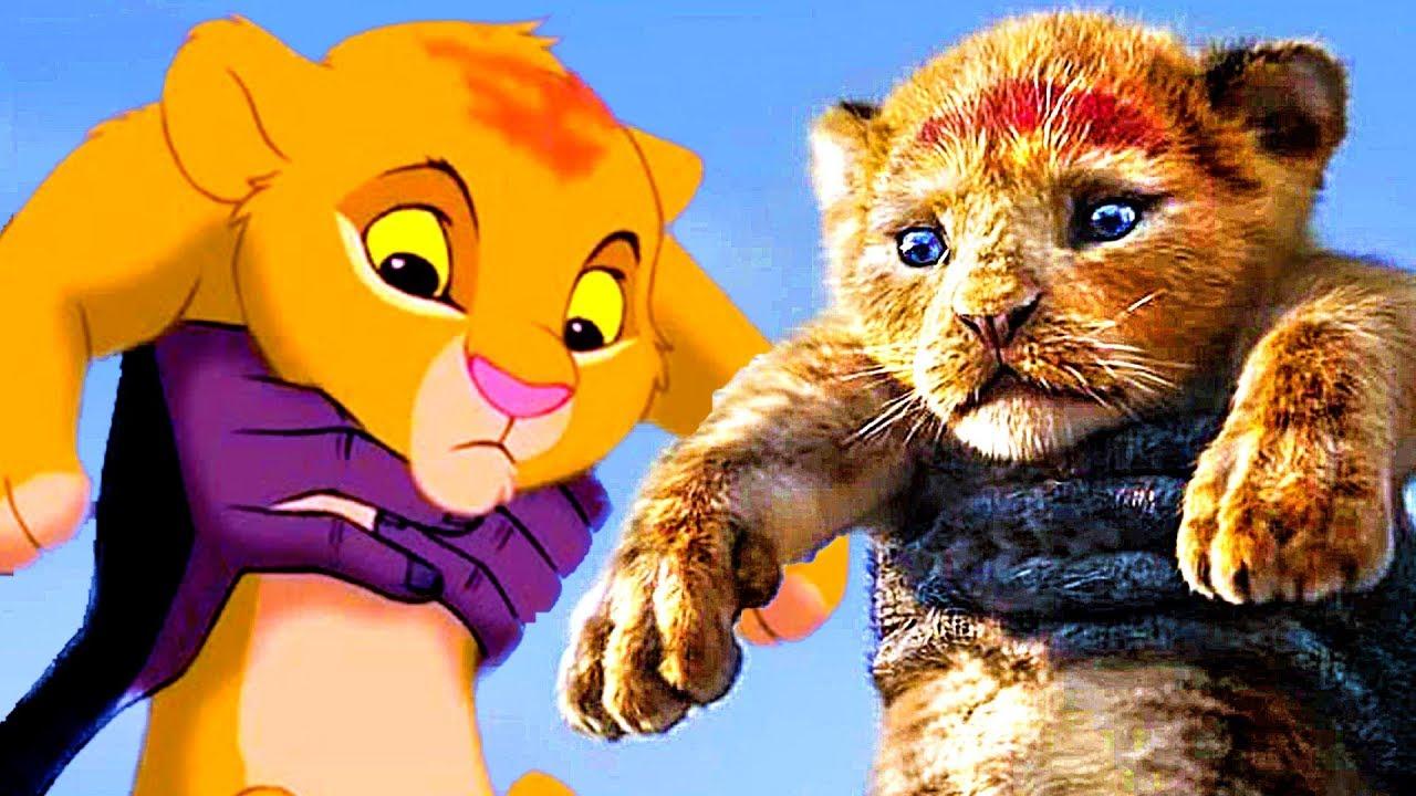 Le roi lion 2019 vs 1994 bande annonce identique youtube - Le roi lion les hyenes ...