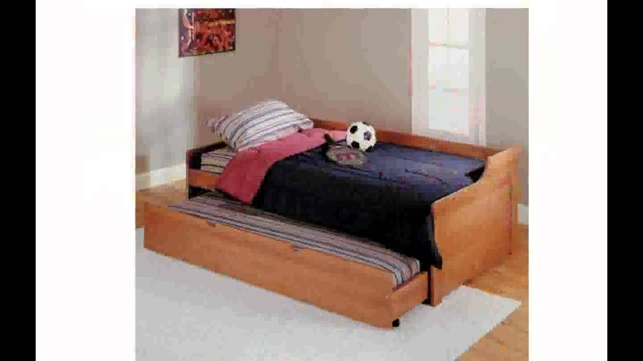 wooden trundle beds