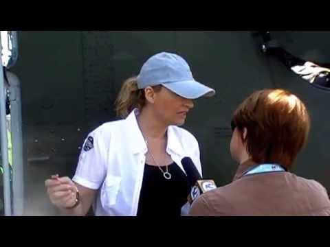 Festyn Lotniczy w Michałkowie 2011 - wywiad Martyna Wojciechowska