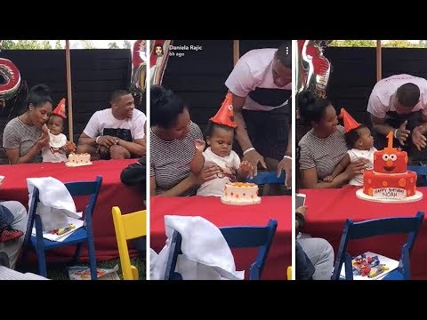 Paul George And His Girl Attend Russell Westbrooks Sons Birthday Party! (Noah Westbrook)