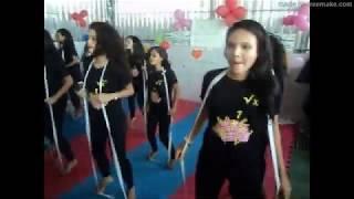 Dança Geométrica com Elásticos -  Feira de Matemática