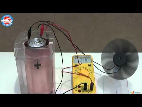 Generate Energy from Salt Water