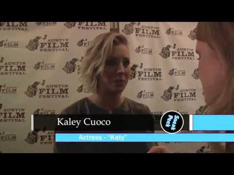 Burning Bodhi Red Carpet   Kaley Cuoco and Cody Horn