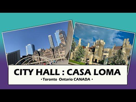 Toronto City Hall & Casa Loma