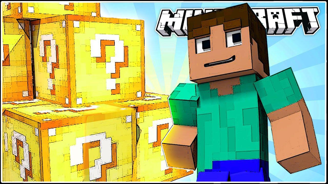 How to get Lucky Blocks in Vanilla Minecraft