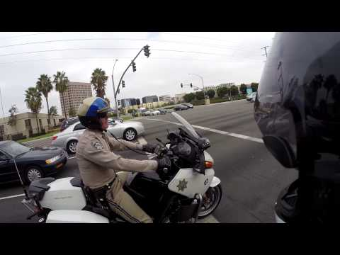 Motorcycle CHP Officers Are People Too