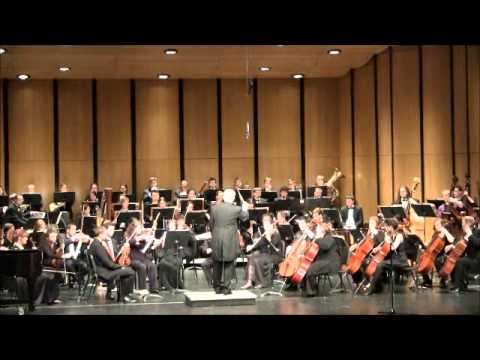 Wichita State University Symphony Orchestra playing An American in Paris
