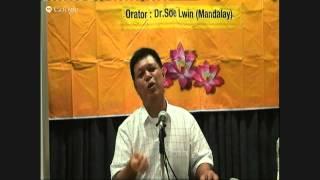 Dr.Soe Lwin, Vipassana Class in S'pore: 04/07/2015(Day-1) Part-1