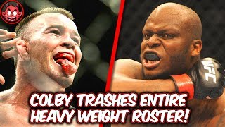 Colby Covington Reacts To Mike Perry Joining His Team & Trashes Entire Heavyweight Roster