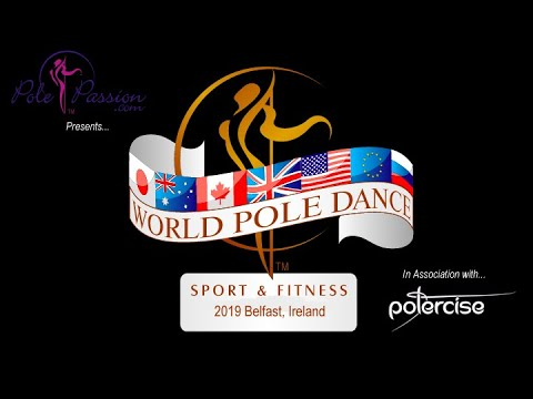 Ke Hong 1st Place male category (with intro) - World Pole Fitness Championships 2019