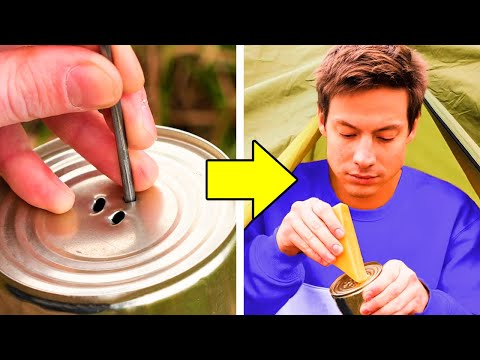 38 CLEVER CAMPING HACKS YOU WILL DEFINITELY LIKE