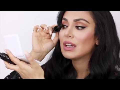 How to Apply False Lashes By Huda Beauty | Sephora