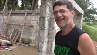 DAY 50 JAMES HOUSE INTENSE PROGRESS IN HIS DREAM CASTLE IN THE MOUNTAIN EXPAT PHILIPPINES