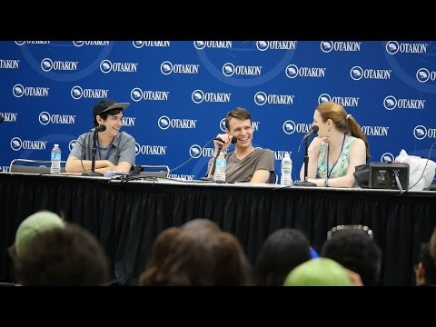 Otakon 2016  Zach Aguilar & Aaron Dismuke Panel with Caitlin Glass