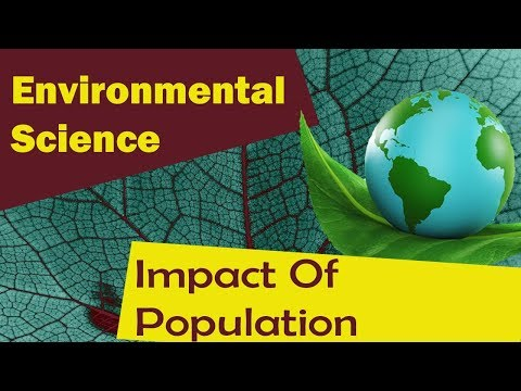 Impact Of Population On Ecosystem And Measures
