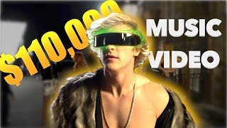 I'M SPENDING $110,000 DOLLARS ON MY MUSIC VIDEO! thumbnail