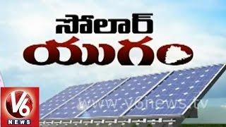 V6 Spot Light on Solar Power plants
