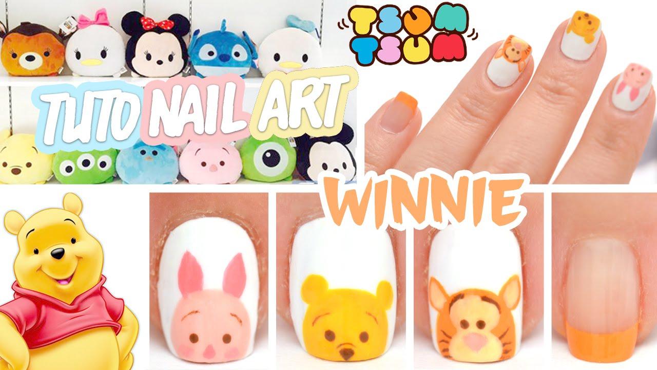 Nail art winnie