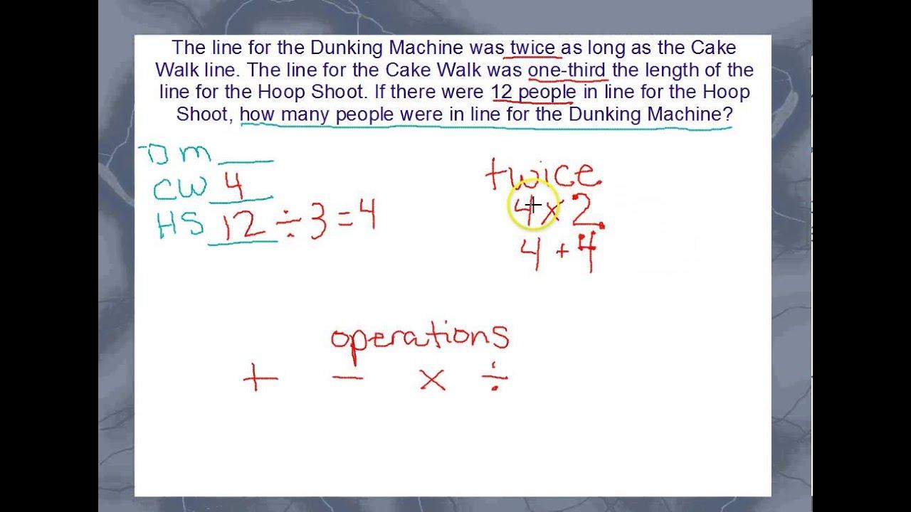 work backwards problem solving strategy equation