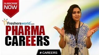 CAREERS IN PHARMA – D.Pharma,B.Pharma,M.Pharma,Pharmacists,Research,Institutions,Salary Package thumbnail