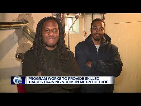 Program Works To Provide Skilled Trades Training And Jobs In Metro Detroit