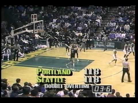 1991 Blazers Regular Season Highlights Part I