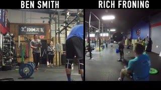 Ben Smith vs Rich Froning - 16.2 CrossFit Open