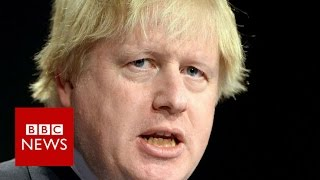 Boris Johnson  'Hard to say no to joining US action in Syria'   BBC News