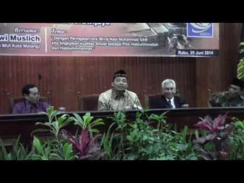 UB Isra' Mi'raj 1435 H Bag. 3 Dr. Zulfi Mubarak, M.Ag