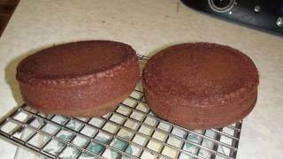 Basic Eggless Chocolate Cake - Video Recipe