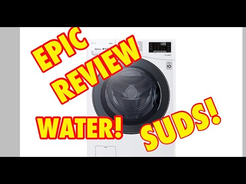 Review: Best Front Load Washer of 2019 LG WM3900HWA