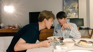 Eng Subs BTS Jin  Jimin Vlive Its been a while (from 2018)