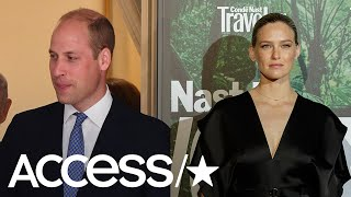 bar refaeli calls prince william prince charming after meeting him access