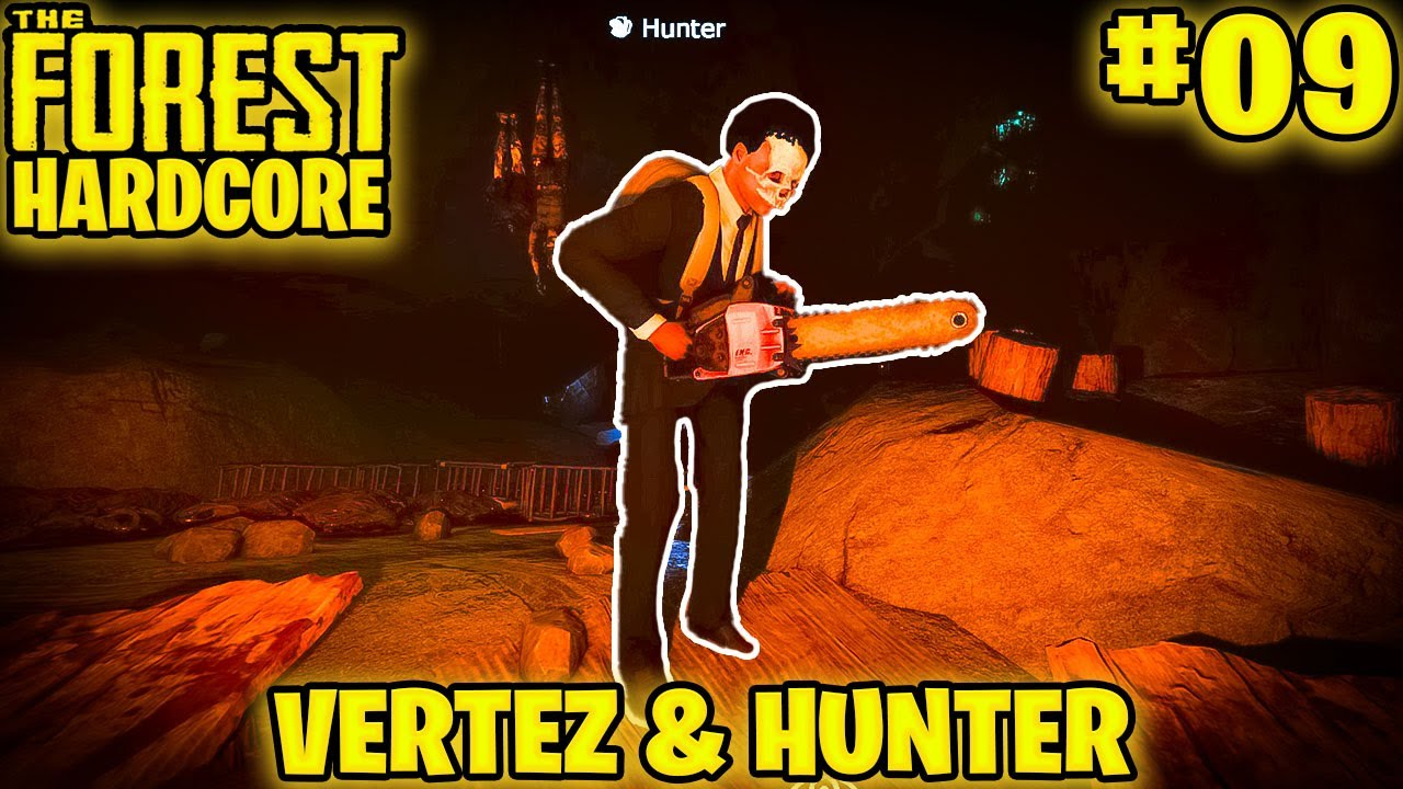 The Forest Hardcore Multiplayer #09 - ZGUBIŁEM SIĘ?! XD / @Hunter